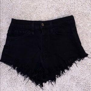 Fashion Nova high waisted shorts- SMALL